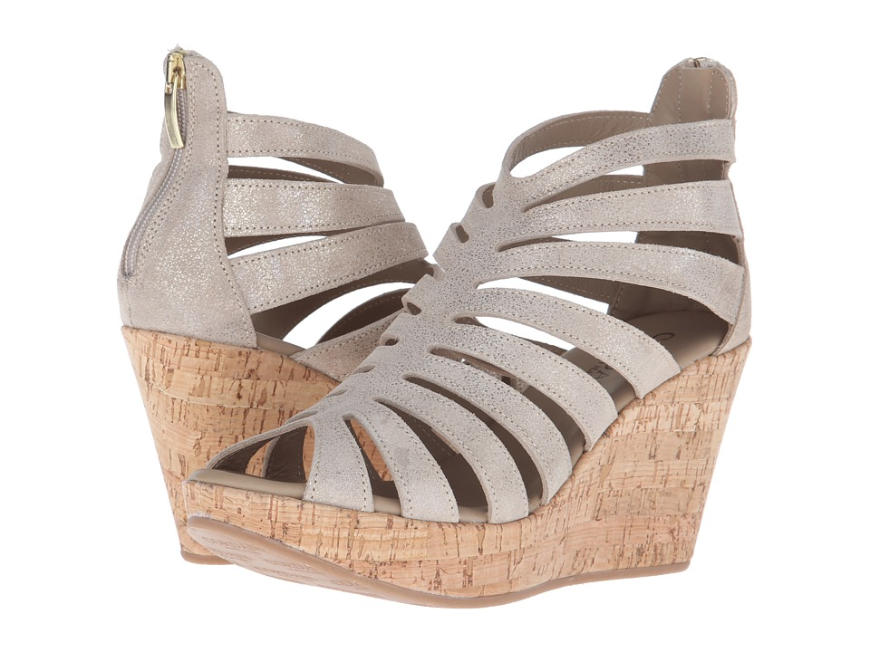 Cordani Electra Dusty Gold Womens Wedge Shoes