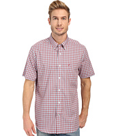 Nautica - Short Sleeve Wrinkle Resistant Medium Gingham Pocket