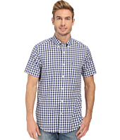 Nautica - Short Sleeve Wrinkle Resistant Plaid Pocket