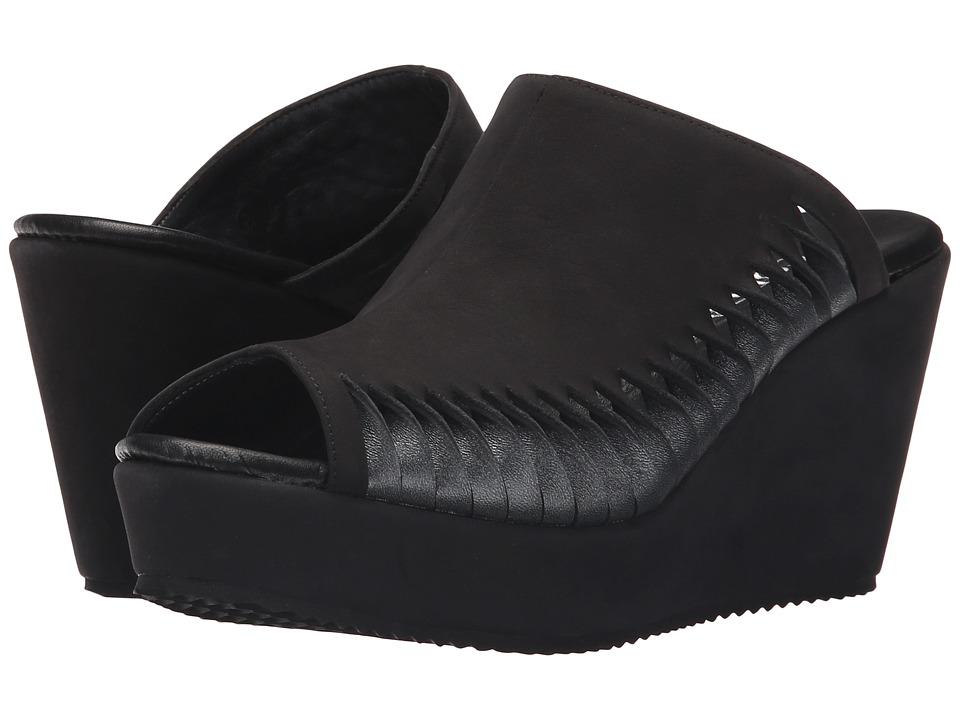 Cordani Fergus Black/Gunmetal Womens Wedge Shoes