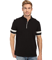 Nautica - Short Sleeve Stripe Sleeve Polo