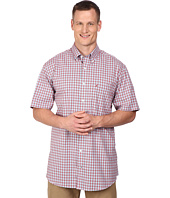 Nautica Big & Tall - Big & Tall Short Sleeve Wrinkle Resistant Medium Gingham Pocket