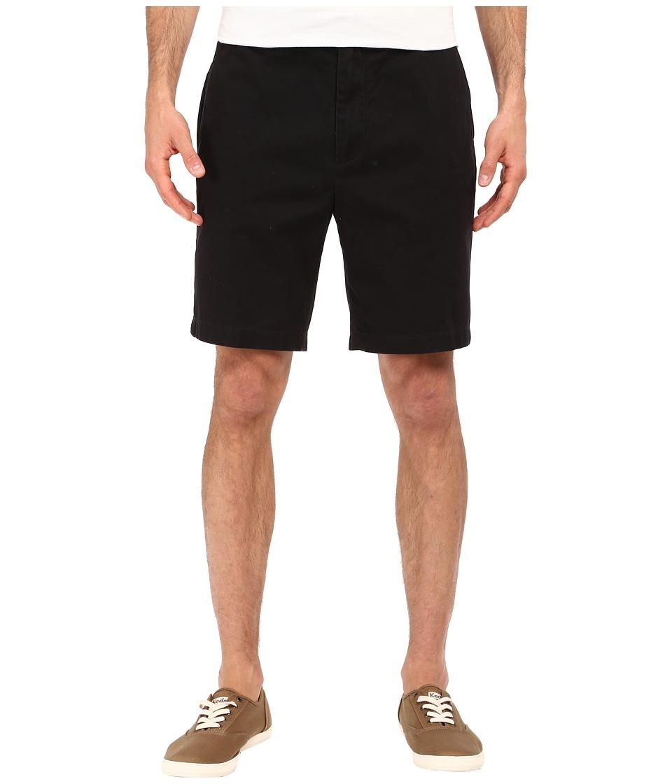 Nautica Flat Front Deck Short True Black Mens Shorts