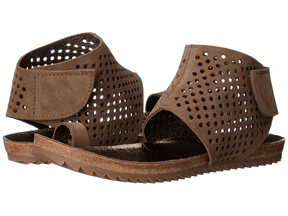 Pedro Garcia Perforated Sandal (Dune Castoro Lame) Women