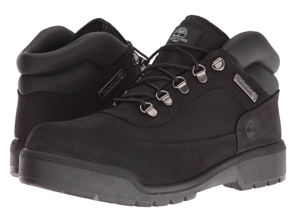 Timberland Field Boot F/L Waterproof (Black Waterbuck) Men