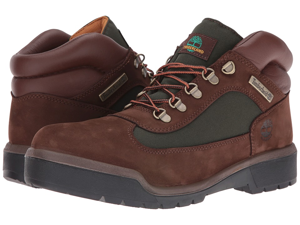 Timberland Field Boot F/L Waterproof (Chocolate Old River Nubuck) Men