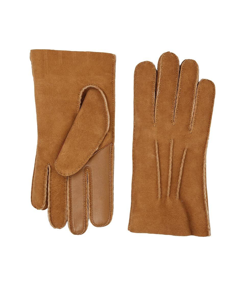 UGG Sheepskin Smart Gloves (Chestnut) Extreme Cold Weather Gloves