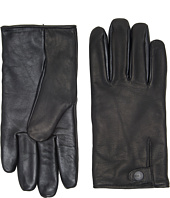 UGG - Leather Smart Gloves Snap Detail