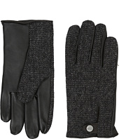 UGG - Woolrich Smart Gloves w/ Leather Trim
