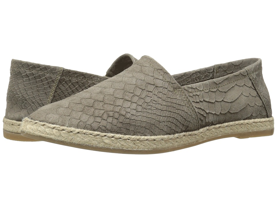 Miz Mooz Amaze Charcoal Snake Womens Slip on Shoes