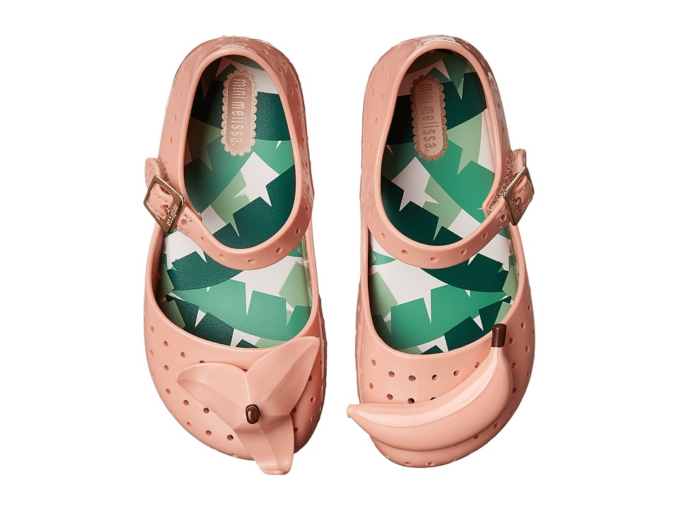 Mini Melissa Furadinha IX Toddler Pale Pink Girls Shoes