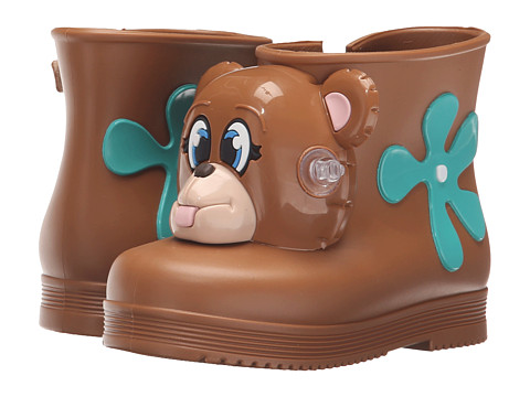 Mini Melissa Monkey Boot + JS (Toddler) - Brown Bear