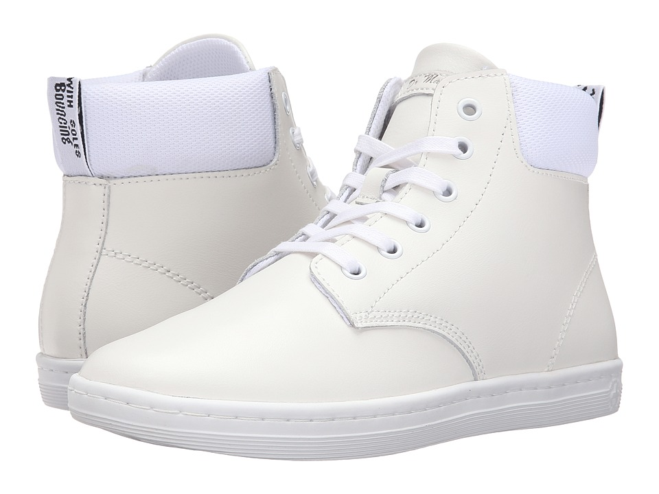 Dr. Martens Maelly Padded Collar Boot (White T Lamper) Women