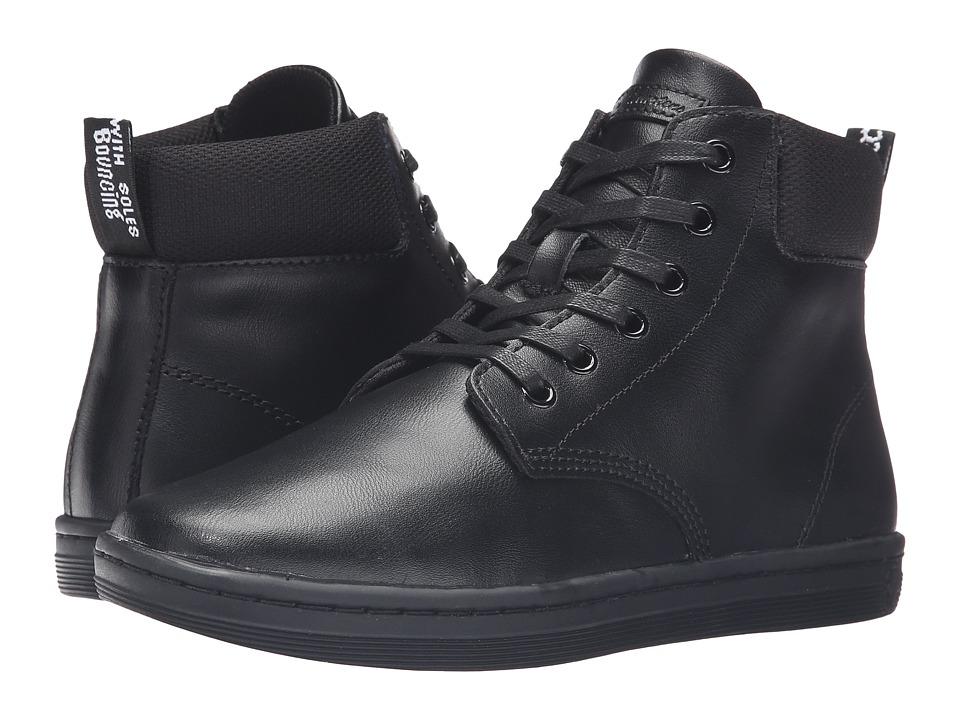 Dr. Martens Maelly Padded Collar Boot (Black T Lamper) Women