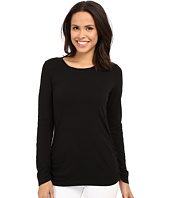 Mod-o-doc - Slub Jersey Long Sleeve Twisted Scoop Neck Tee