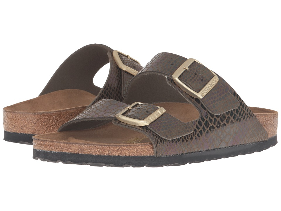 Birkenstock - Arizona (Shiny Snake Olive) Women