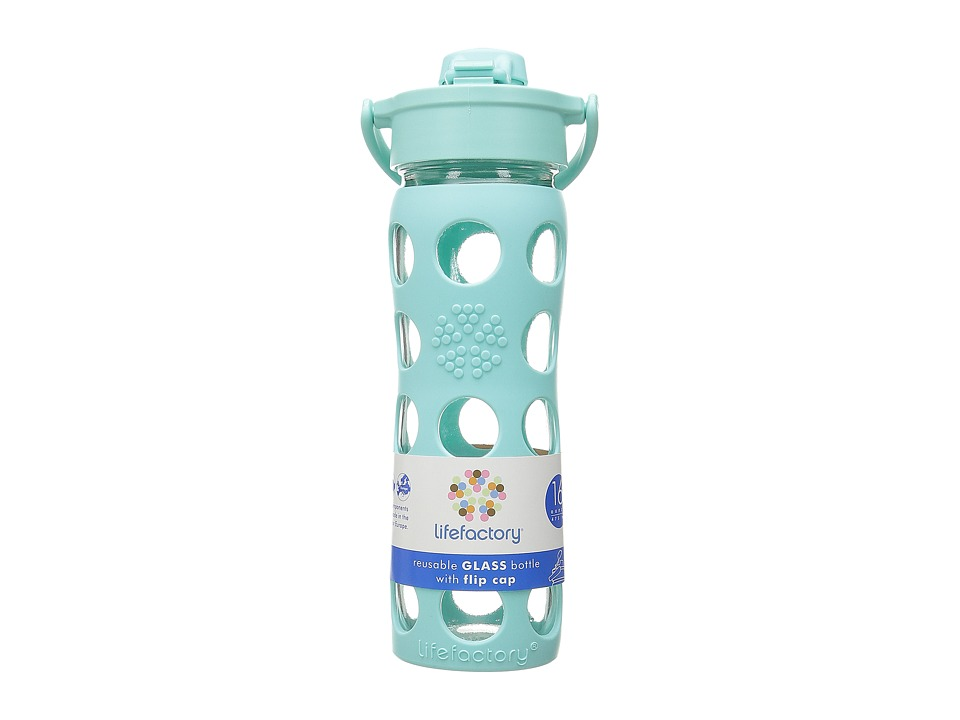 Lifefactory - Glass Bottle with Flip Cap 16 oz.