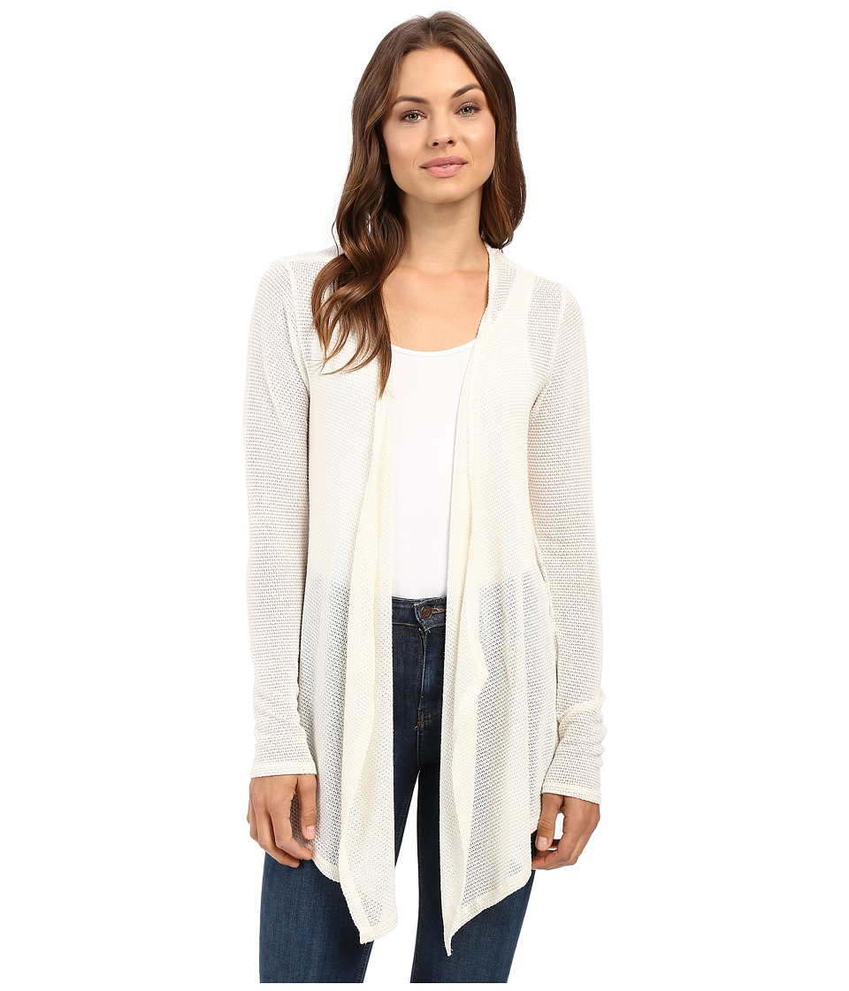 Volcom - Lived In Go Wrap (Vintage White) Women's Long Sleeve Pullover plus size,  plus size fashion plus size appare