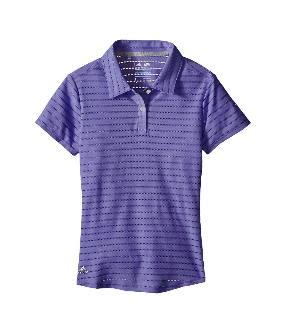 adidas Golf Kids - Essential Cotton Hand Stripe Polo
