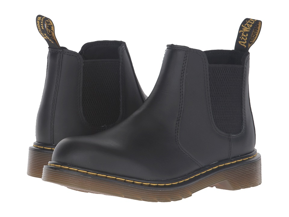 Dr. Martens Kids Collection - 2976 Youth Banzai Chelsea Boot (Big Kid) (Black) Boys Shoes