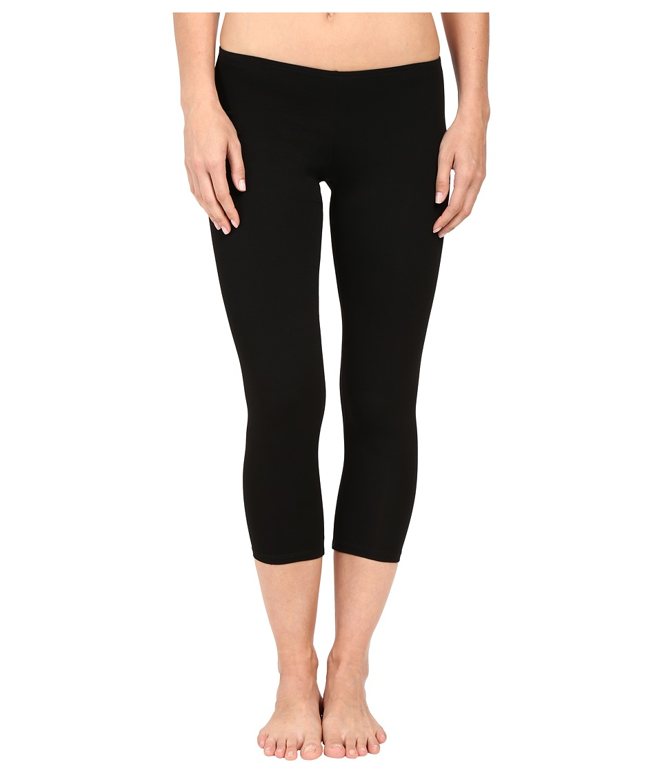 Only Hearts - So Fine Crop Leggings (Black) Womens Casual Pants