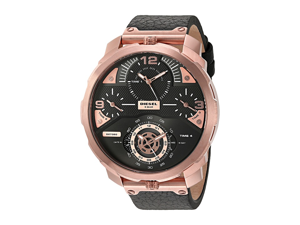 Diesel Machinus DZ7380 Black Watches