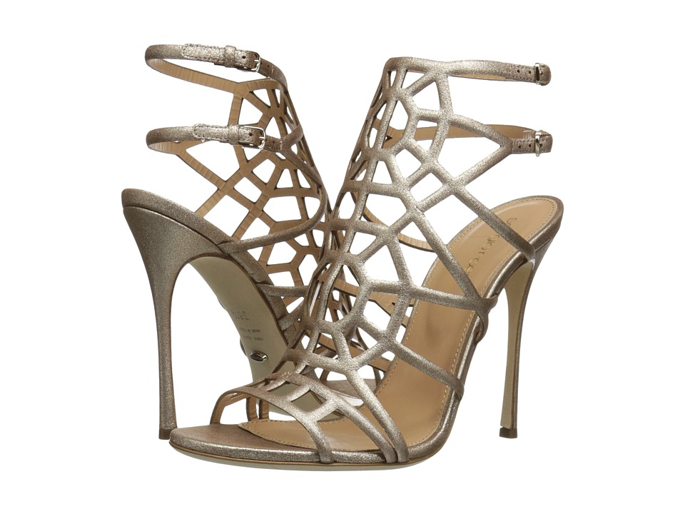 Sergio Rossi Puzzle (Platinum Stardust) High Heels