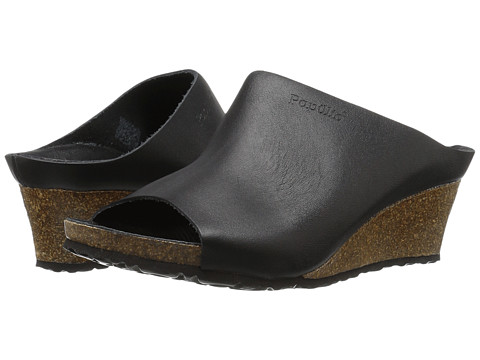 Birkenstock Debby - Metallic Black Leather