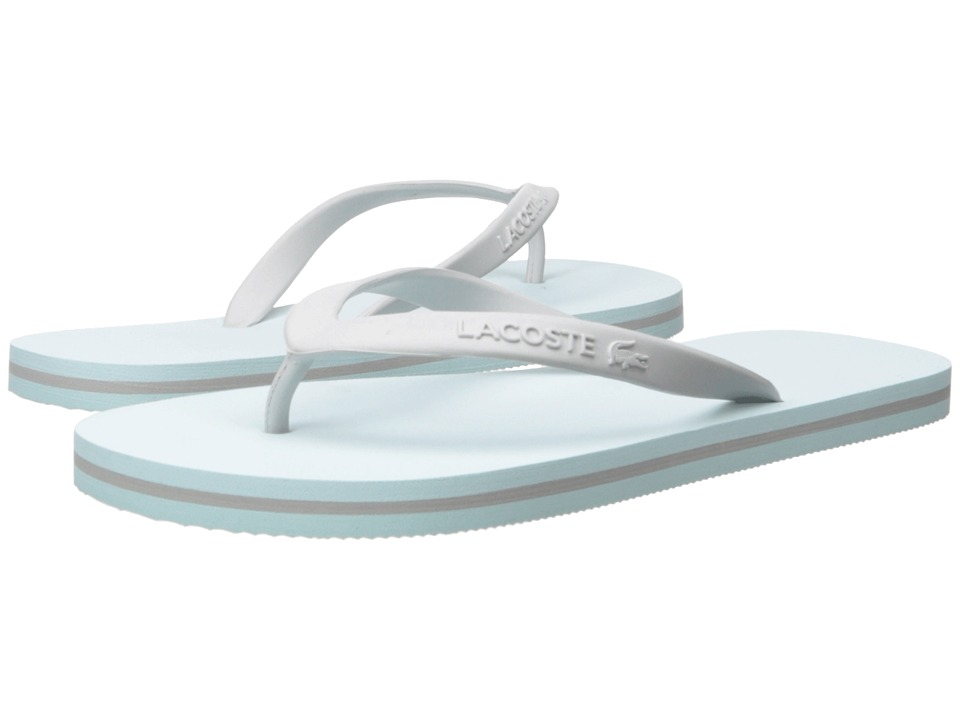 Lacoste Ancelle Slide Light Blue/Light Grey Womens Sandals