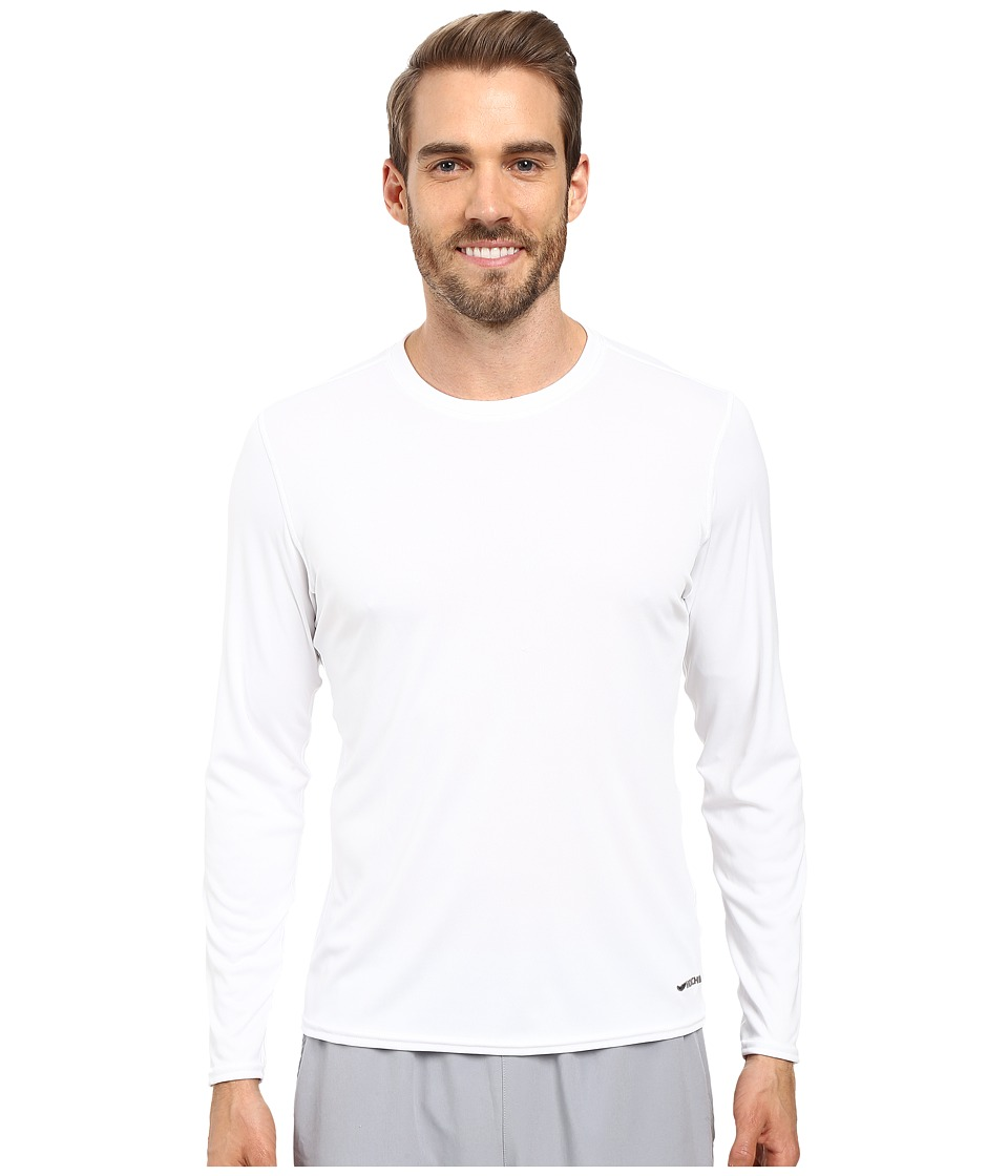 Hot Chillys Peach Solid Crewneck (White) Men