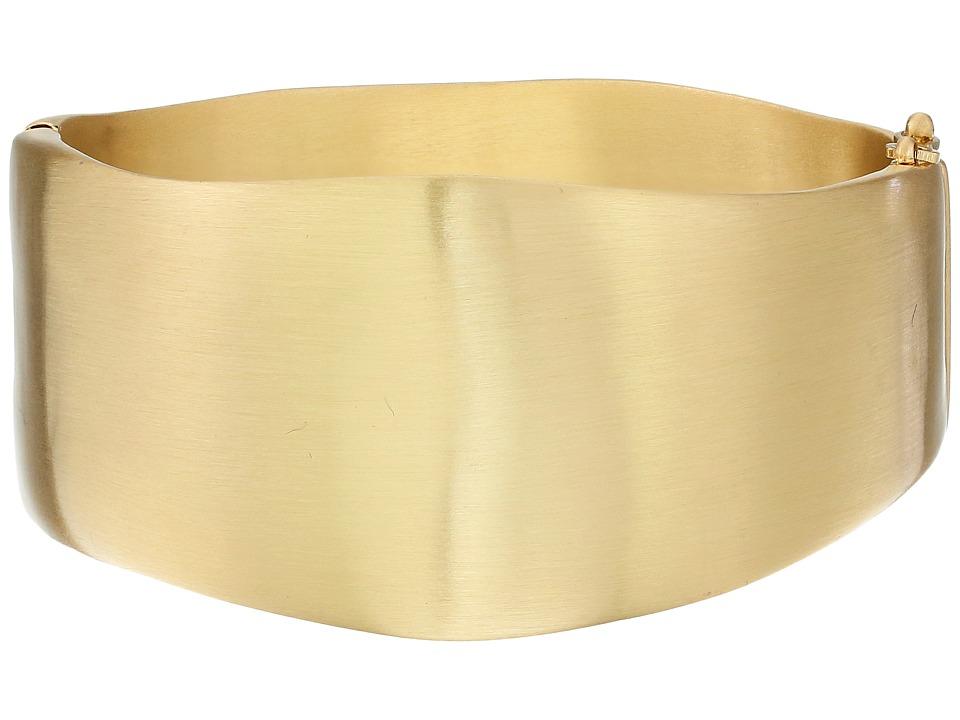Karen Kane Organic Elements Hinged Cuff Bracelet Gold Bracelet