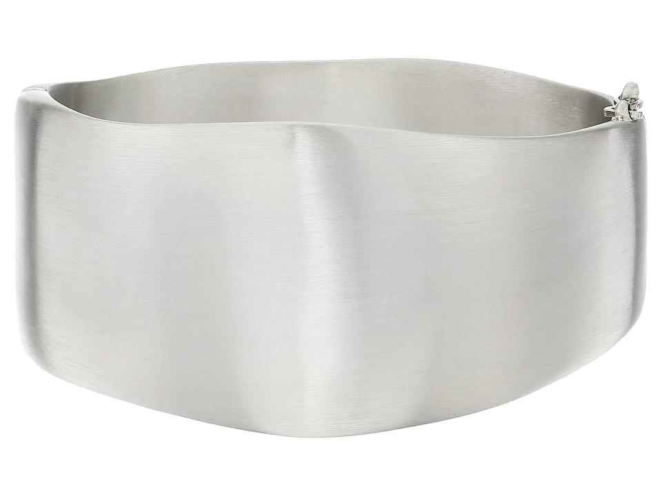 Karen Kane Organic Elements Hinged Cuff Bracelet Silver Bracelet