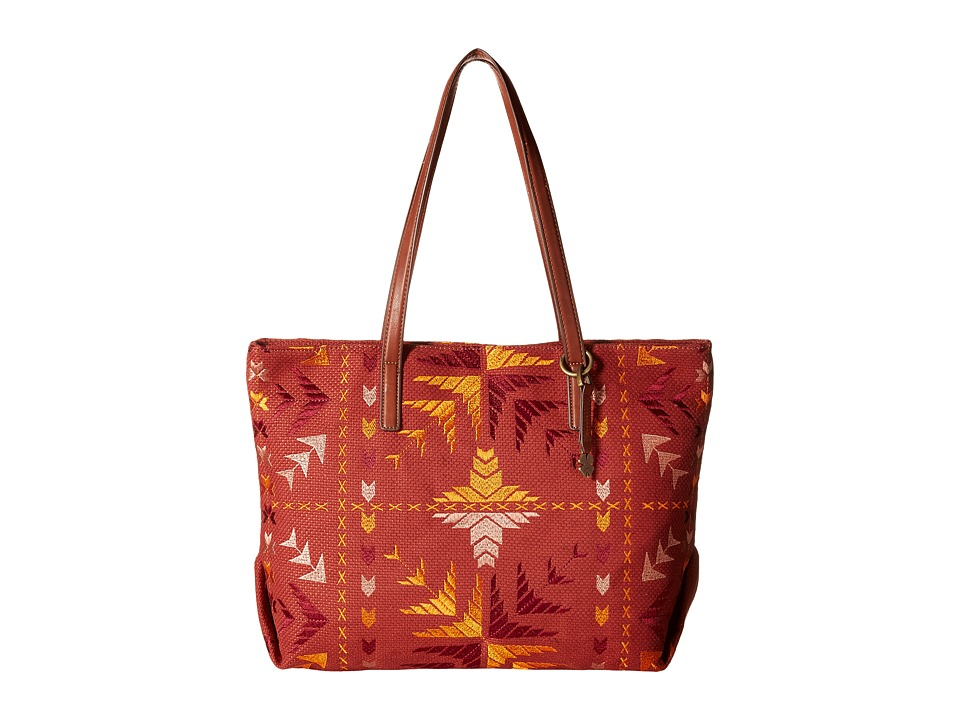 Lucky Brand - Asha Top Zip Tote (Bright Multi) Top-Zip Handbags