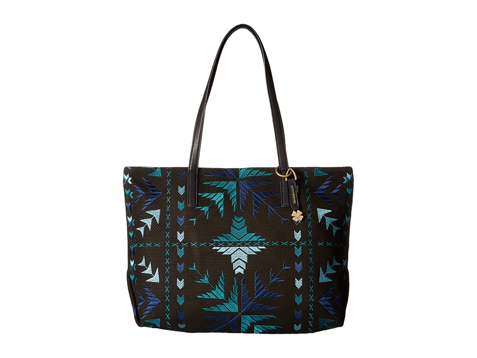 Lucky Brand - Asha Top Zip Tote (Cool Multi) Top-Zip Handbags