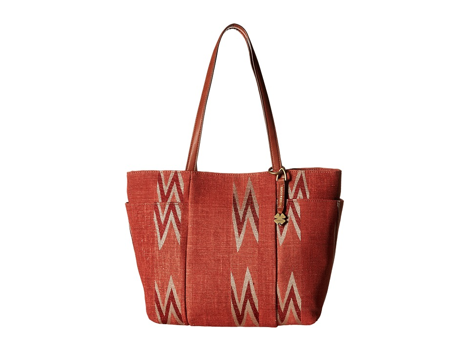 Lucky Brand - Bryn East/West Tote (Terracotta) Tote Handbags