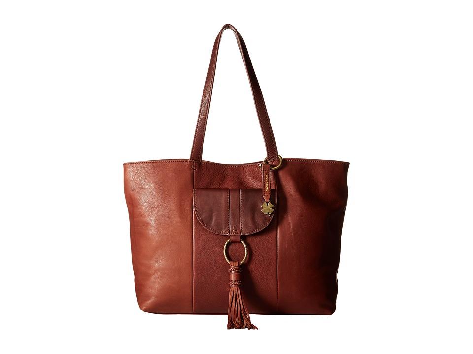 Lucky Brand - Athena Tote (Brandy) Tote Handbags