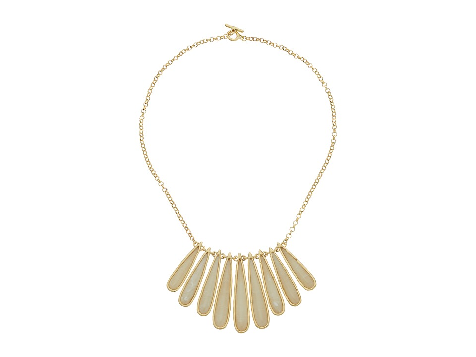 Karen Kane Tidal Wave Statement Collar Necklace Cream Necklace