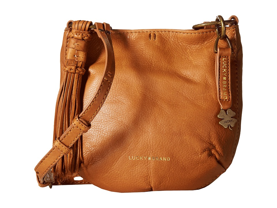 Lucky Brand - Athena Crossbody (Tobacco) Cross Body Handbags