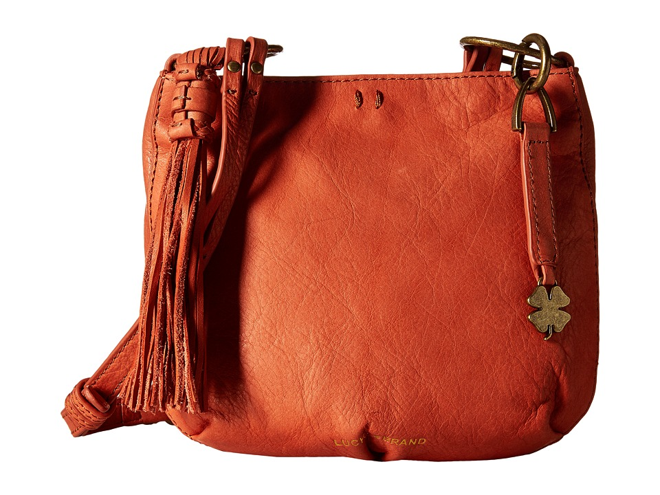 Lucky Brand - Athena Crossbody (Terracotta) Cross Body Handbags