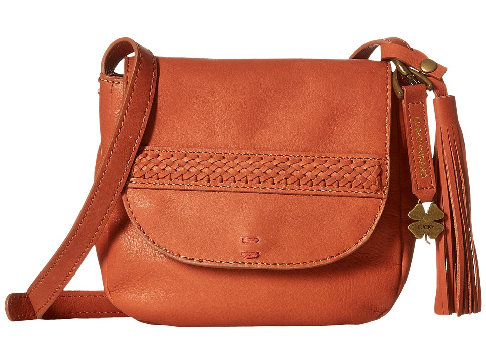 Lucky Brand - Sydney Crossbody (Terracotta) Cross Body Handbags