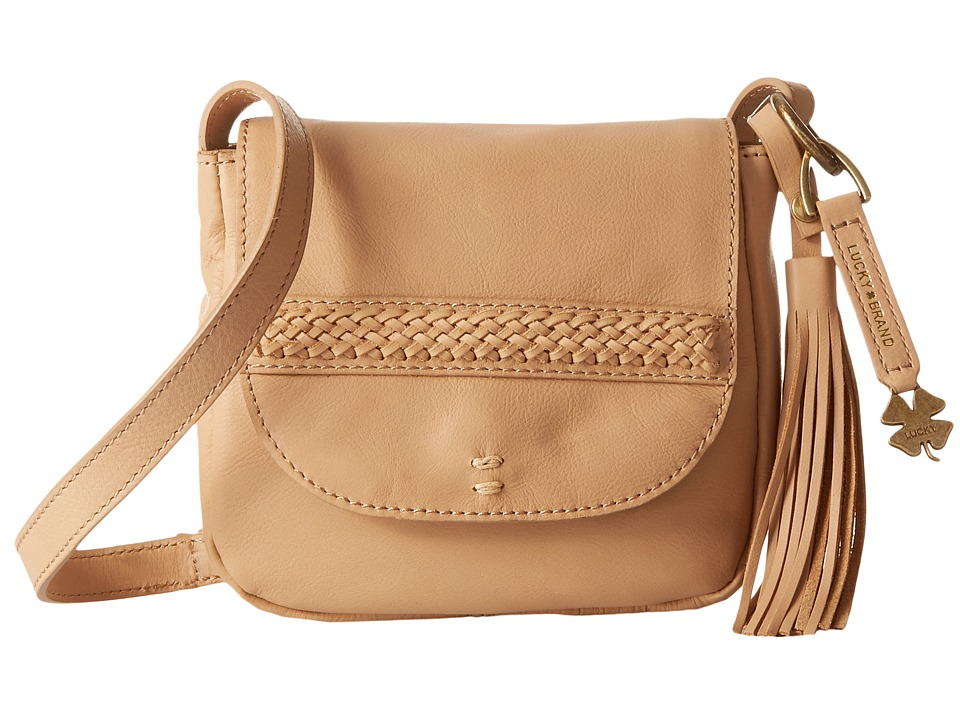 Lucky Brand - Sydney Crossbody (Natural) Cross Body Handbags