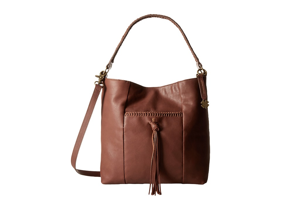 Lucky Brand - Sydney Crossbody Hobo (Brandy) Cross Body Handbags