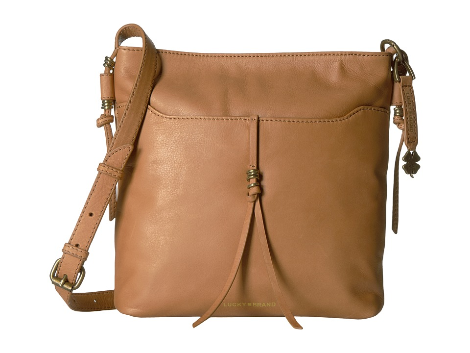 Lucky Brand - Nyla Crossbody (Tobacco) Cross Body Handbags