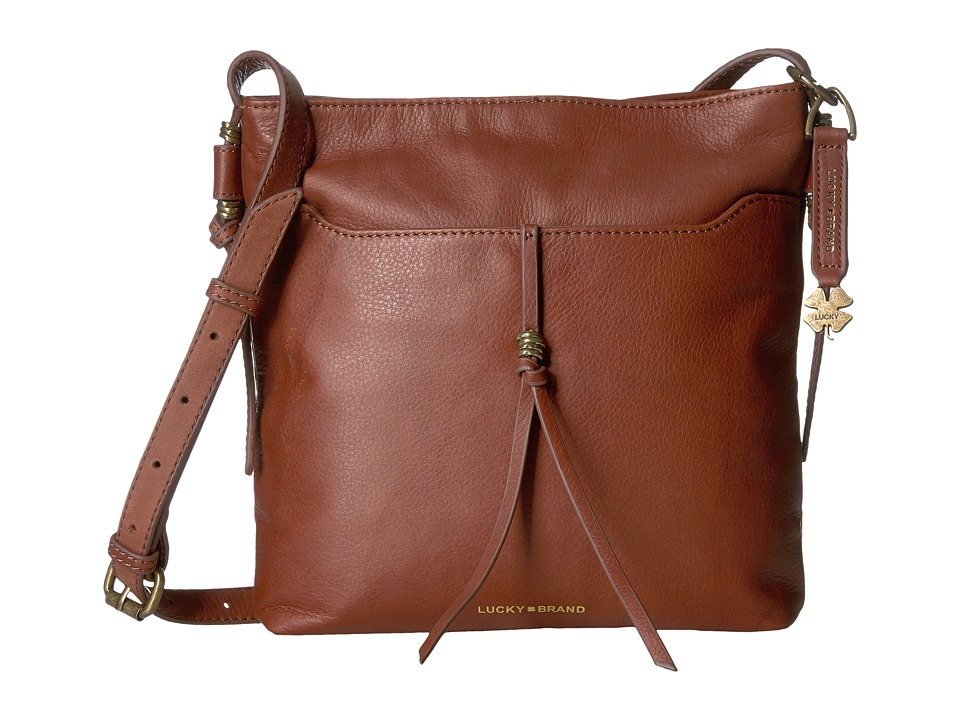 Lucky Brand - Nyla Crossbody (Brandy) Cross Body Handbags