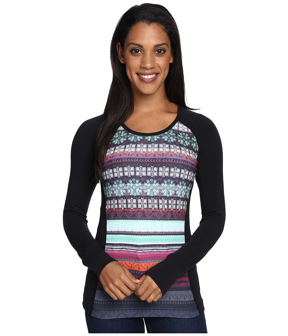 Hot Chillys MTF Sublimated Print Scoop Neck Top (Nordic/Black) Women