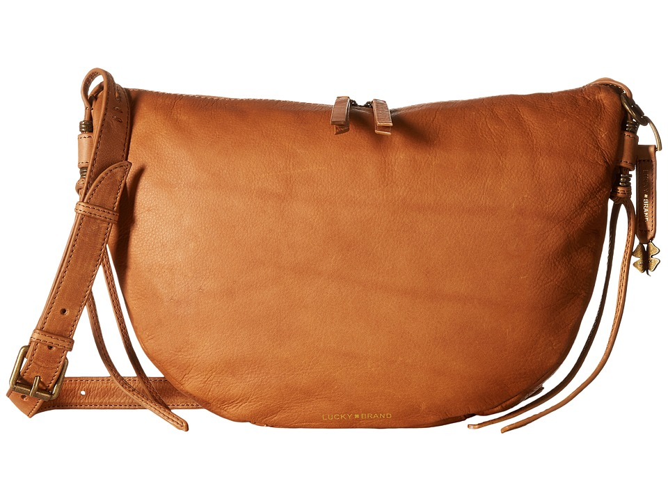 Lucky Brand - Nyla Crescent Hobo (Tobacco) Handbags