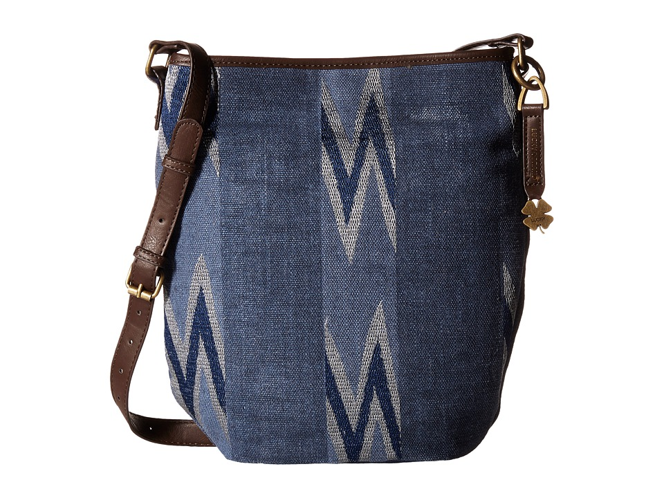 Lucky Brand - Bryn Bucket (Navy) Handbags