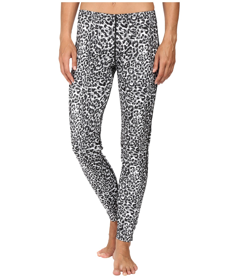Hot Chillys Peach Print Bottom (Snow Leopard) Women