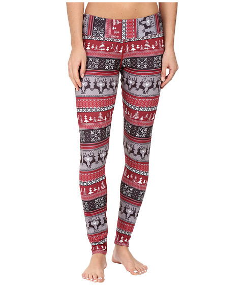 Hot Chillys MTF Sublimated Print Tight - Holiday Fever