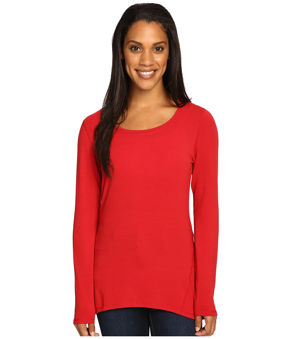 Hot Chillys MTF Solid Tunic (Crimson) Women
